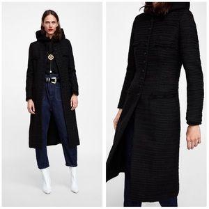 e3d6e75e Women Zara Long Trench Coat In Black on Poshmark